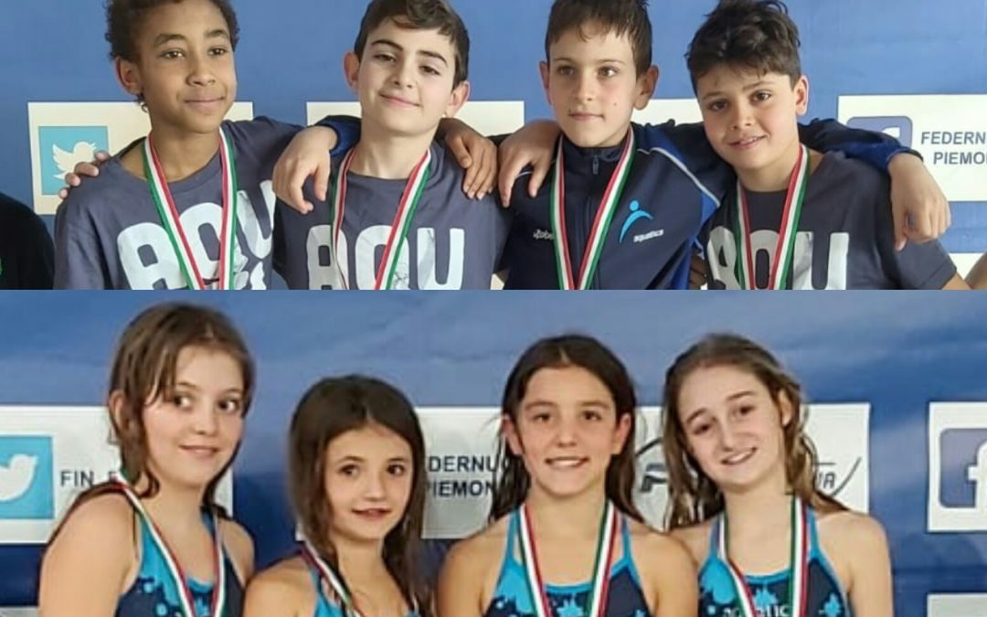 Nuoto: Grand Prix Esordienti B, brillano le staffette dell'Aquatica