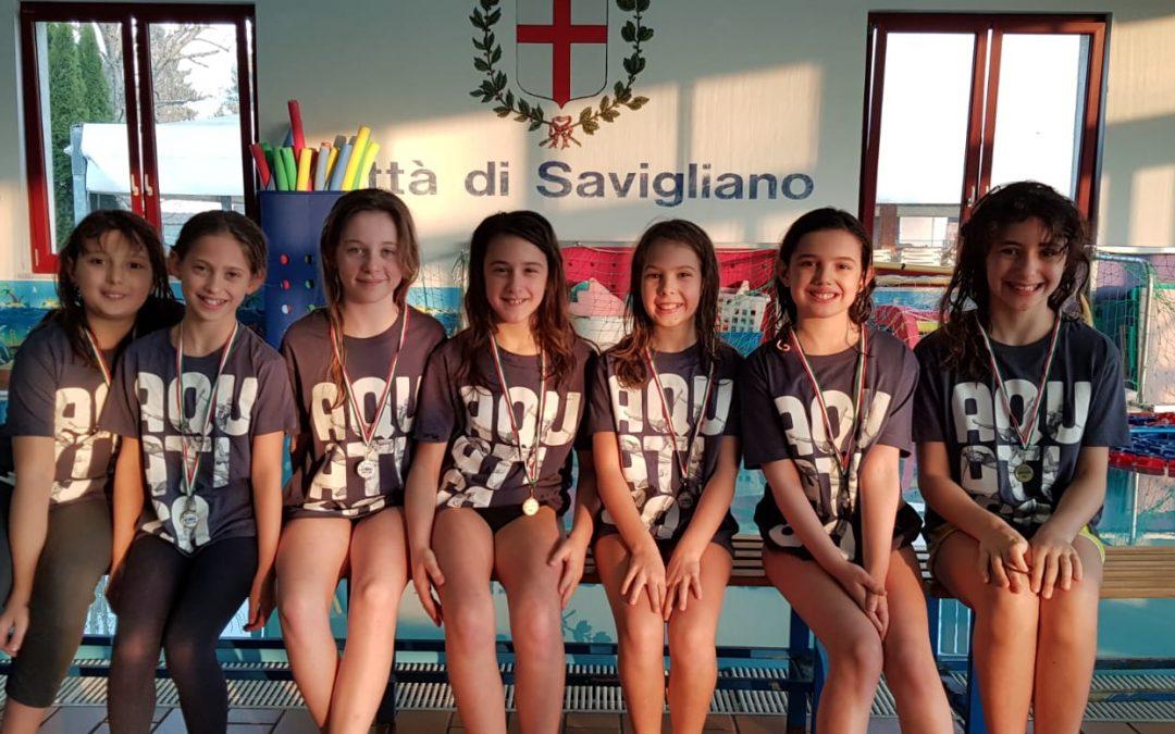 Nuoto sincronizzato: la domenica dell'Aquatica a Savigliano