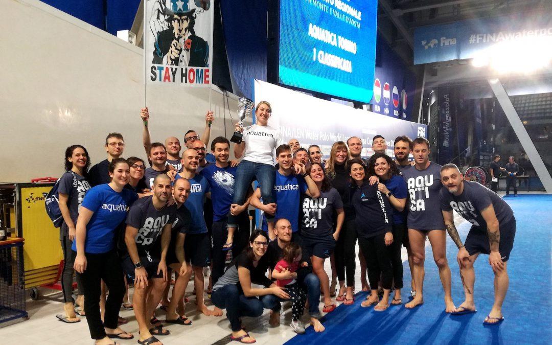 Master: l'Aquatica Torino è campione regionale
