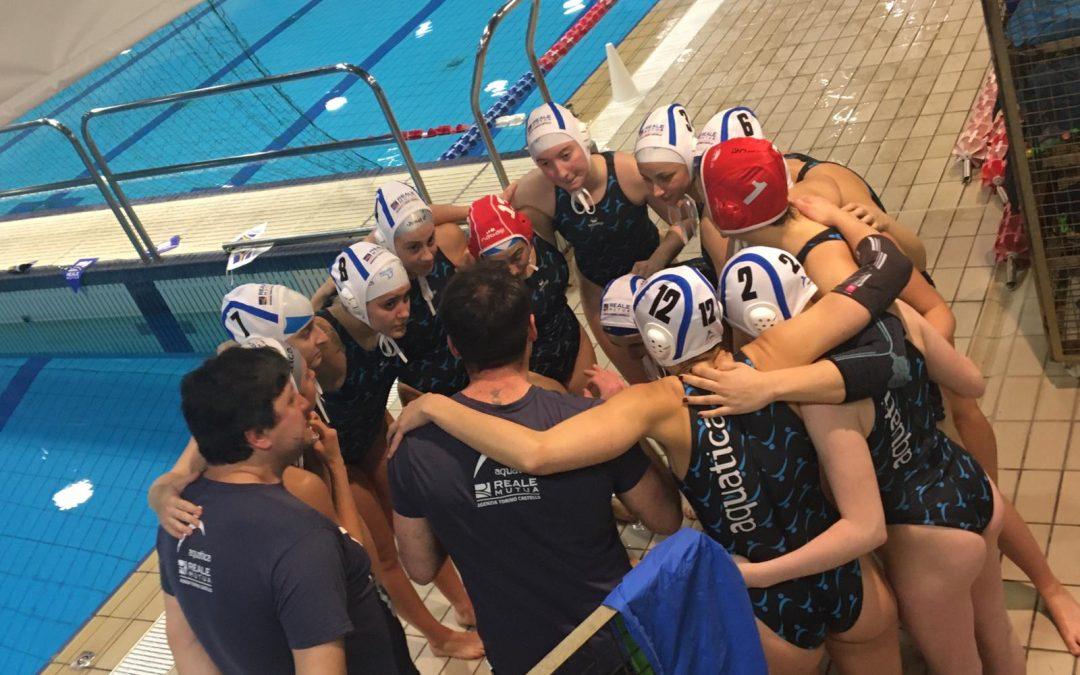 Serie A2, l'Aquatica torna da Padova senza punti