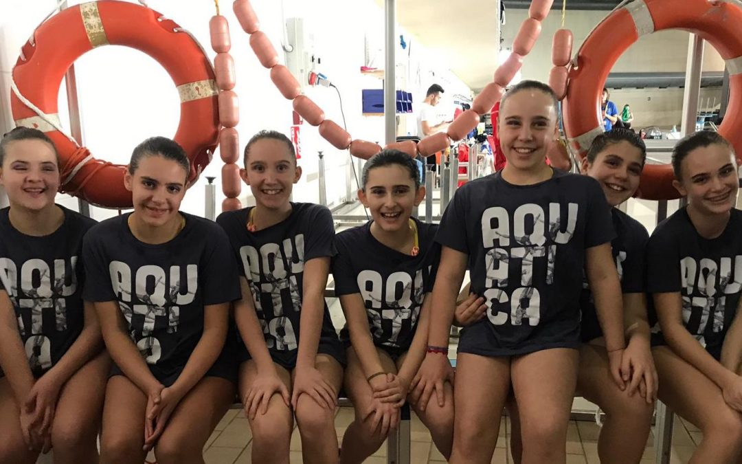 Nuoto sincronizzato: l'esordio delle giovani atlete dell'Aquatica alla Coppa Piemonte UISP