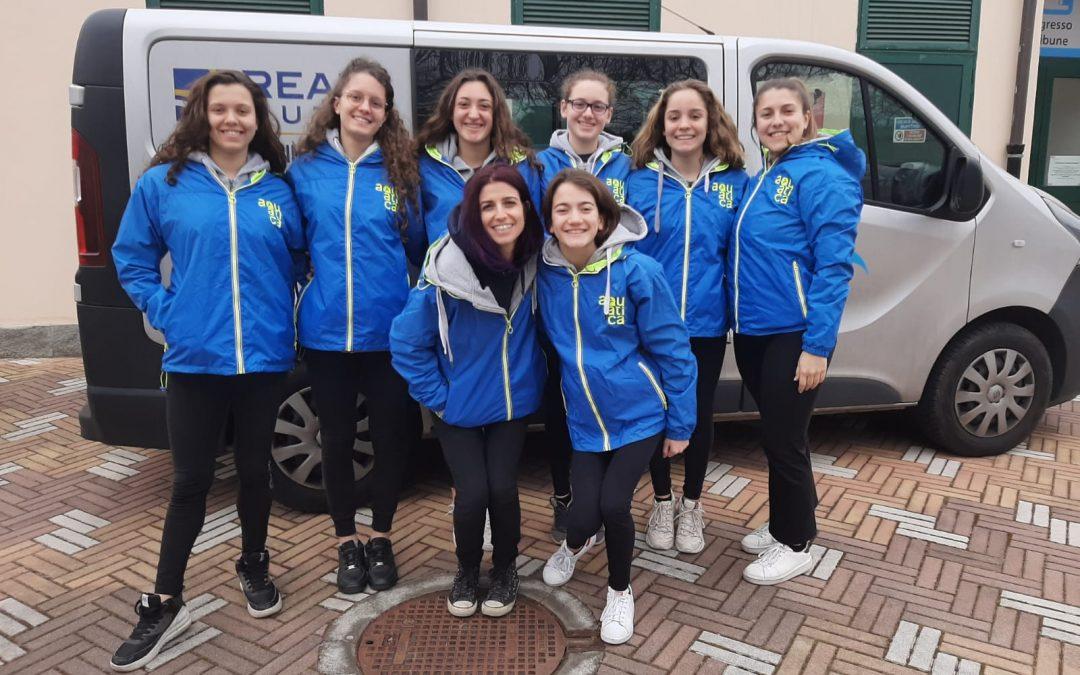 Campionato Italiano Invernale Junior, la squadra dell'Aquatica a Viterbo